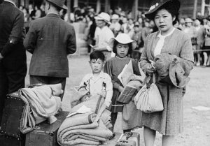 Japanese internment in Canada.