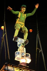 In Kurios, Rola Bola is one of the best acts.