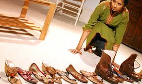 An Arrangement of Shoes is playing the Vancouver Fringe Festival.