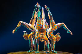 The Contortionists are one of the best acts in Cirque du Soleil's Kurios.