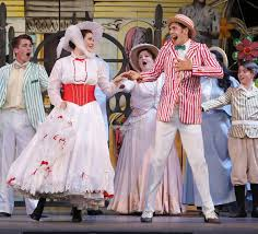 Theatre Under the Stars presented Mary Poppins in Malkin Bowl.