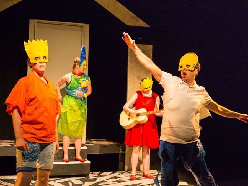 """Cape Feare"", and episode of The Simpsons, becomes an opera in Mr. Burns, a post-electric play."