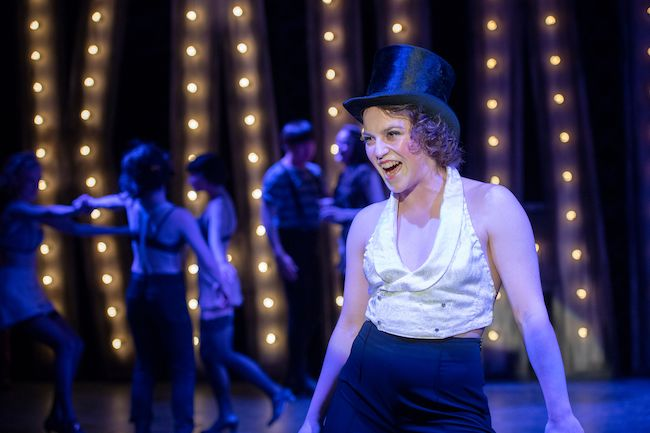 Paige Fraser is playing the Emcee in Studio 58's production of Cabaret.