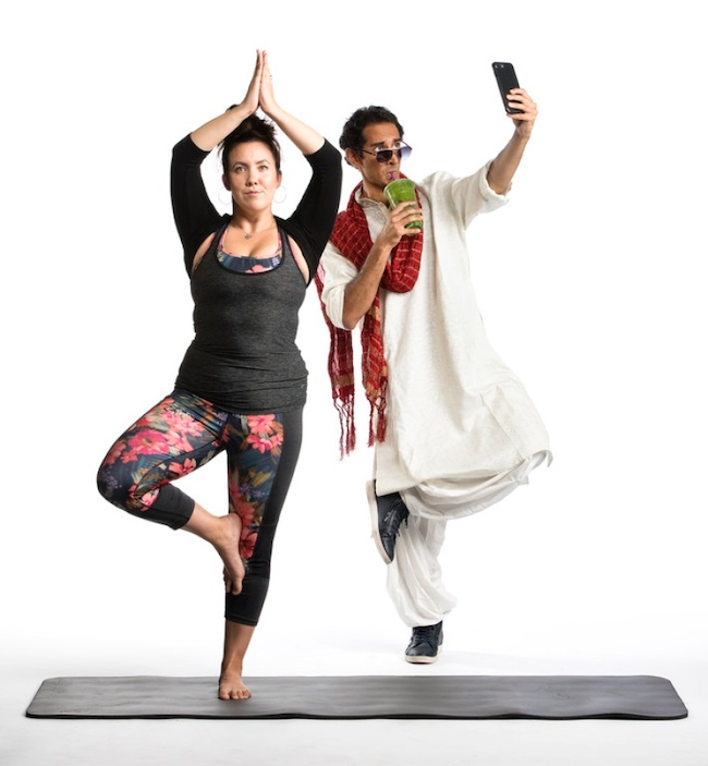 The Gateway Theatre is presenting Dipika Guha's Yoga Play.