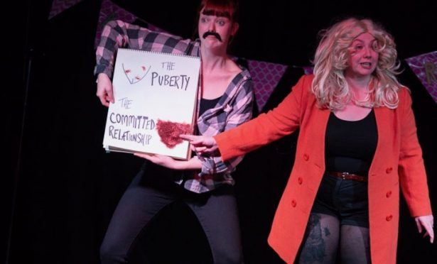 After Party Theatre is presenting Lady Parts as part of the rEvolver Festival.