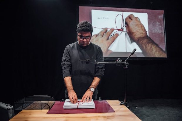 Nassim Soleimanpour's new show Nassim is playing The Cultch in Vancouver.