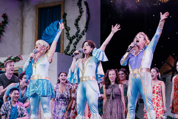 Theatre Under the Stars is presenting Mamma Mia! at Malkin Bowl in 2019.