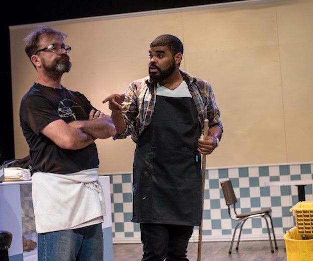 Ensemble Theatre Company is producing Superior Donuts at the Jericho Arts Centre