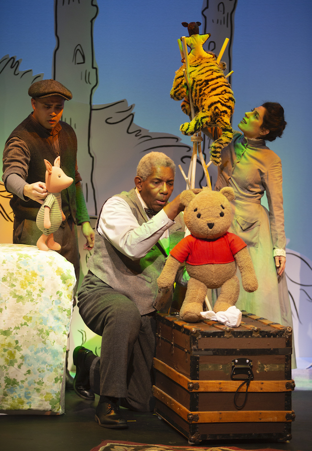 Carousel Theatre is presenting House at Pooh Corner at the Waterfront Theatre.