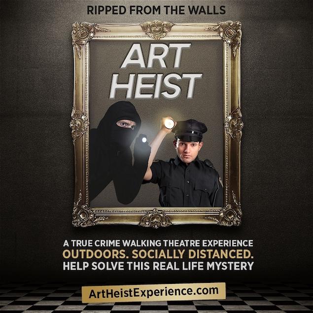 Art Heist, Vancouver Fringe Festival, TJ Dawe, Ming Hudson