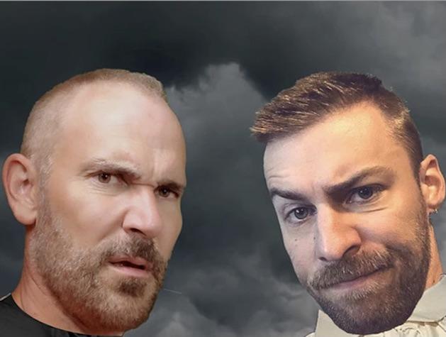 Iago vs. Hamlet publicity photo